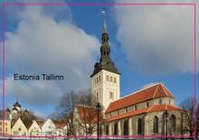 , Estland tallinn Saint Nicholas Kirche Souvenir Foto Kühlschrank Magnet 5635 Reise Geschenk touristischen attraktionen Drop Verschiffen Nehmen