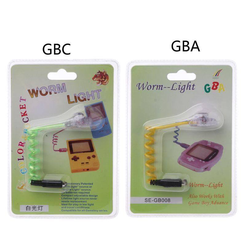 Alta qualidade nova luz sem-fim flexível iluminação lâmpadas led para nintendo gba gbc gbp console
