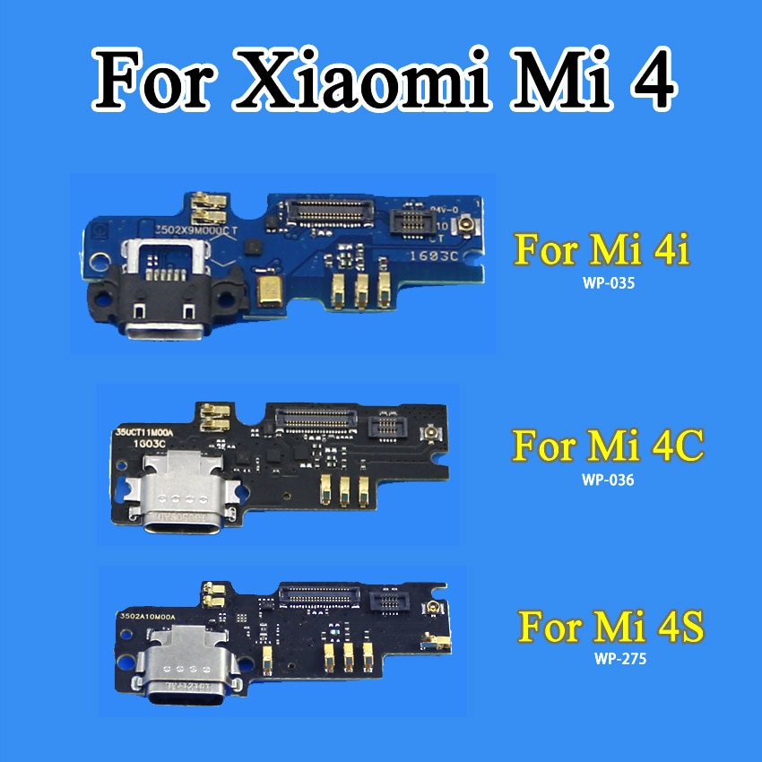 Puerto de carga USB cltgxdd, Conector de clavija, Cable de carga para Xiaomi mi 4C mi 4C mi 4i mi 4i mi 4S mi 4S
