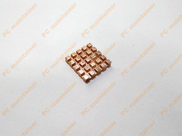 Disipador térmico de cobre de 20x20mm, adhesivo conductivo térmico para ordenador portátil M.2 NGFF, enfriador inalámbrico de tarjetas integrado, disipador térmico de cobre