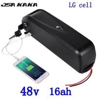 48v lithium battery 48v 17ah electric bike battery 500w 750w 1000w 48v 10ah 13ah 16ah 17ah 18ah li ion ebike battery use lg cell