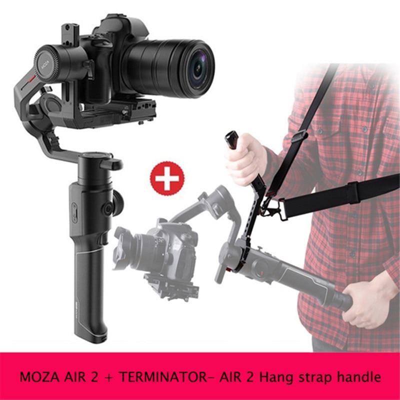 Moza Air 2 3-Achse Handheld Gimbal Maxload 4,2 KG DSLR Kamera Stabilisator für Sony Canon Nikon 5D 6D mark PK DJI Ronin S Kran 2