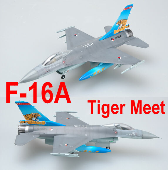 Modelo fácil 37126 1/72 Navy F-16A J-004 NTAF TIGER MEET modelo de aeronave TH07351-SMT2
