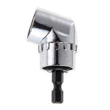 Tournevis à tête à Angle droit, 105 degrés, tige hexagonale 1/4 pour perceuse électrique, tournevis, accessoires doutils à domicile