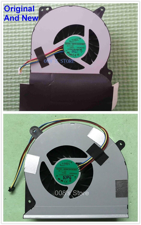 New CPU/GPU Cooler Fan For ASUS G750 G750JH G750JM G750JS G750JW G750JX G750JY G750JZ AB07512HX26DB00/AB08812HX26DB00 00G20AJ4
