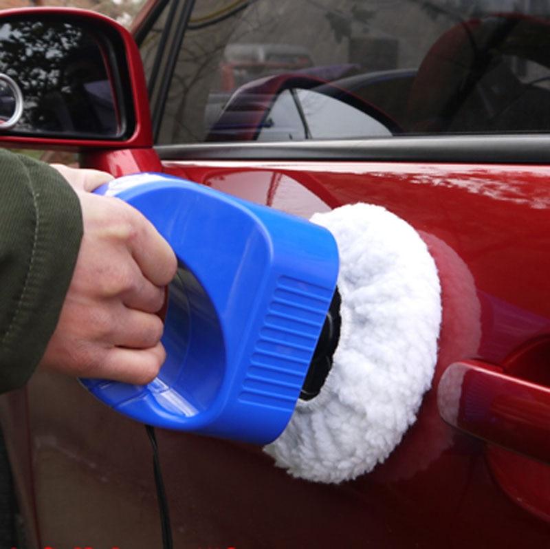 BLUE Portable  hand Polisher tool for auto Car Wax Polishing Machine DC 12V  Car Care Tools