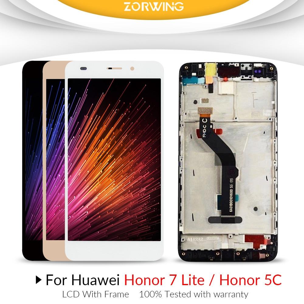 Para Huawei Honor 5C pantalla LCD + pantalla táctil para Huawei Honor 7 Lite LCD digitalizador montaje pantalla reemplazo para Huawei GT3