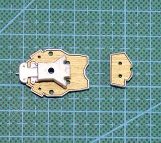 ARTWOX agency Aoshima 038680 Navy warships Japanese Mutsu wooden deck AW20004