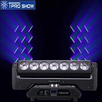 Beam Moving Head 7x15W Pixel Blade LED Bar Wash Lighting Infinite Rotate Professional Stage Light for Club DJ Live Show MH715B