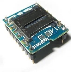 Mini SD tarjeta MP3 Módulo de sonido para PIC para Arduino WTV020-SD-16P envío gratis