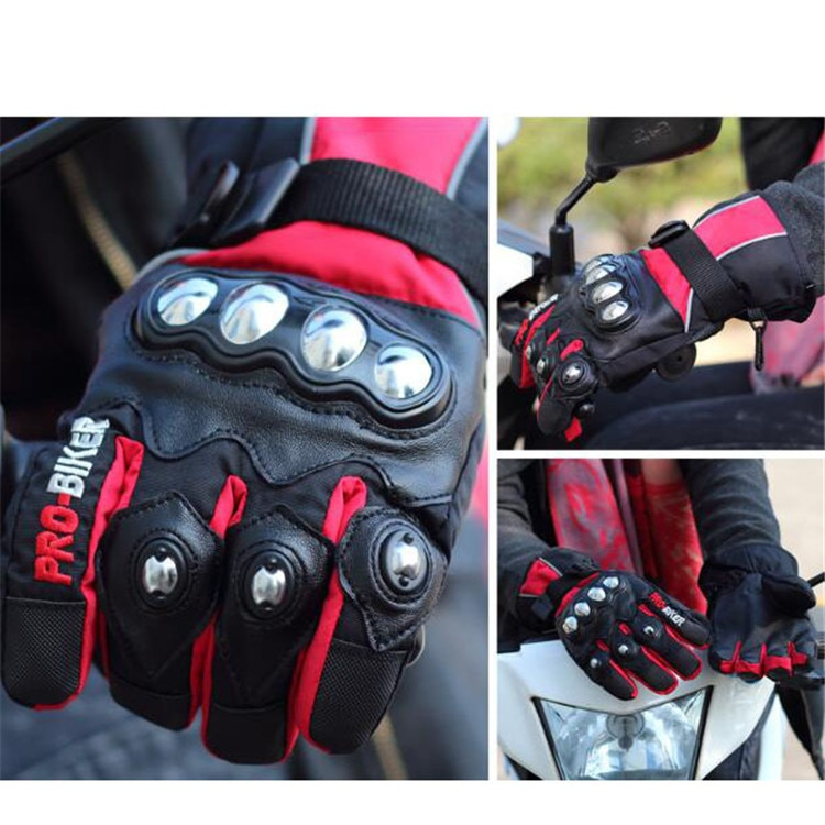 100% waterproof touch screen pit bike glove luva motocross protection hand full finger racing motorcycle guantes for KTM gloves enlarge