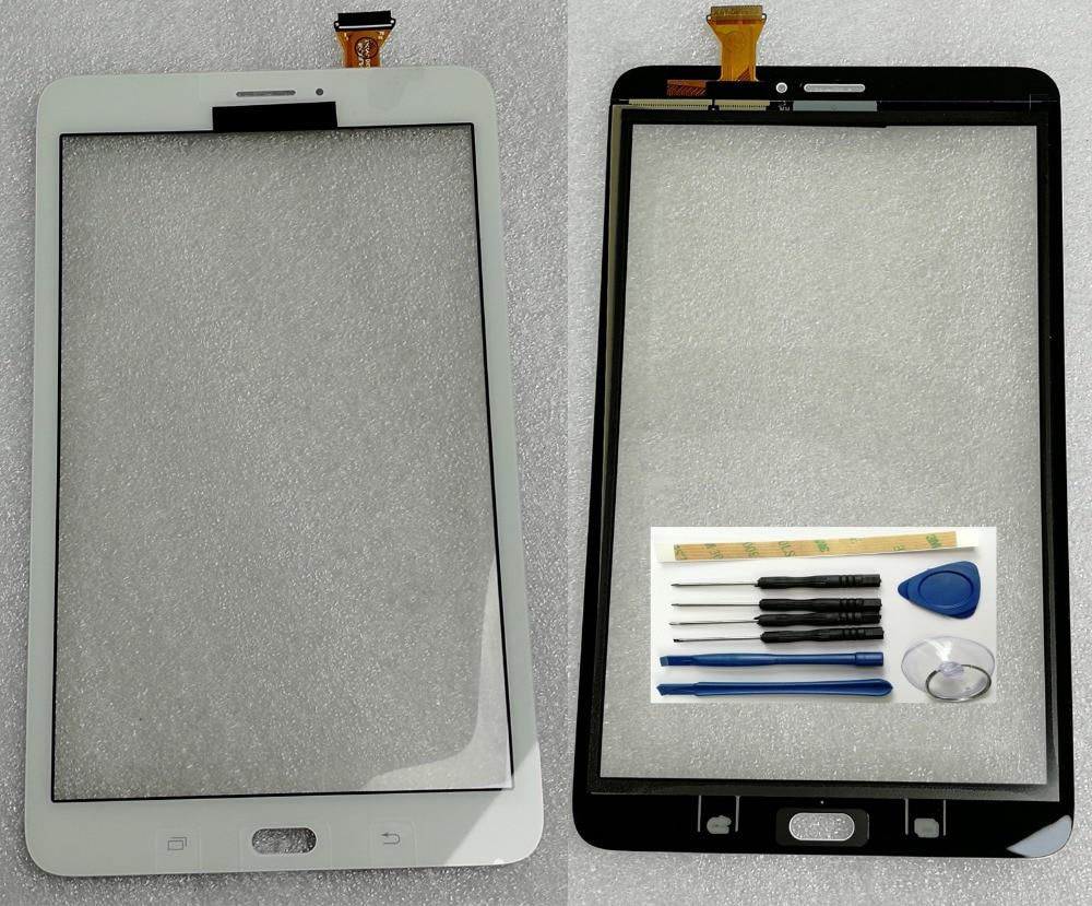 100% Shyueda nuevo para Samsung Galaxy Tab E 8,0 SM-T3777 3G pantalla táctil de cristal frontal exterior