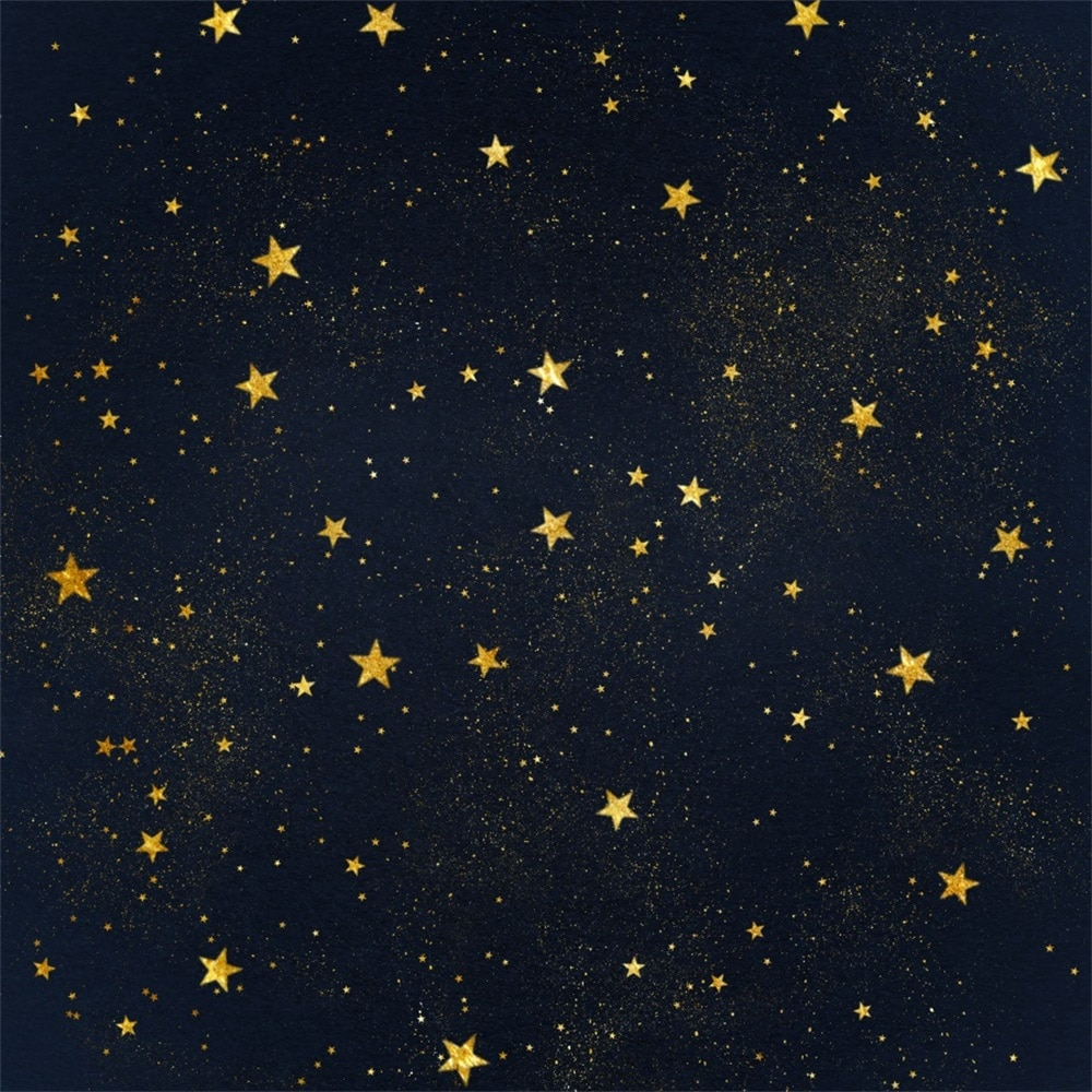 Laeacco Starry Sky Portrait Scene Baby Children Photography Backgrounds Customized Photographic Backdrops For Photo Studio