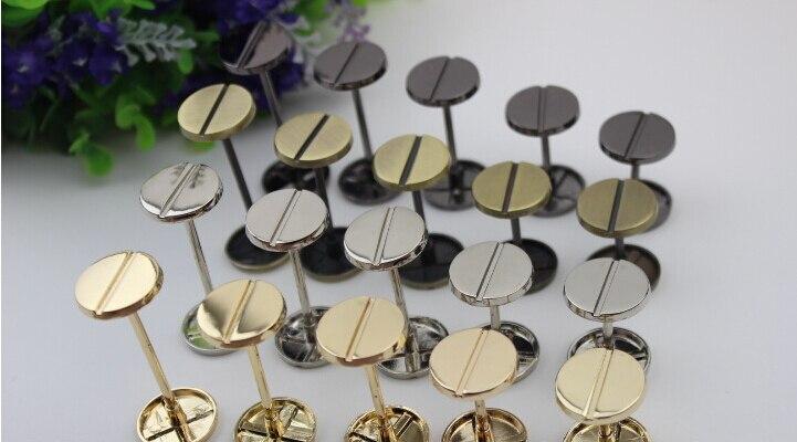 10 unids/lote DIY bolsa accesorios hebilla de rueda accesorios paquete tornillos
