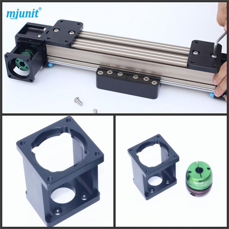 Mjunit-حزام المحرك الخطي ، الانزلاق الفائق ، سكة التوجيه الخطية NEMA 34