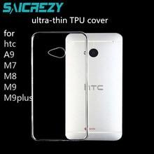 For HTC one m7 m8 m9 U12 Plus U11 life M10 X9 X10 U Ultra Desire 12 12S 800 826 620 820 mini case soft transparent phone cover
