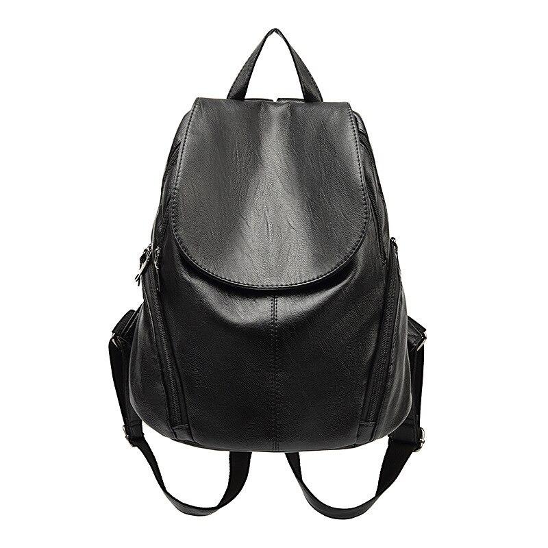 Sac à dos femme en cuir véritable femmes sacs à dos sac décole rayure multifonctionnel en cuir sac à dos sur lépaule femme nouveau C626