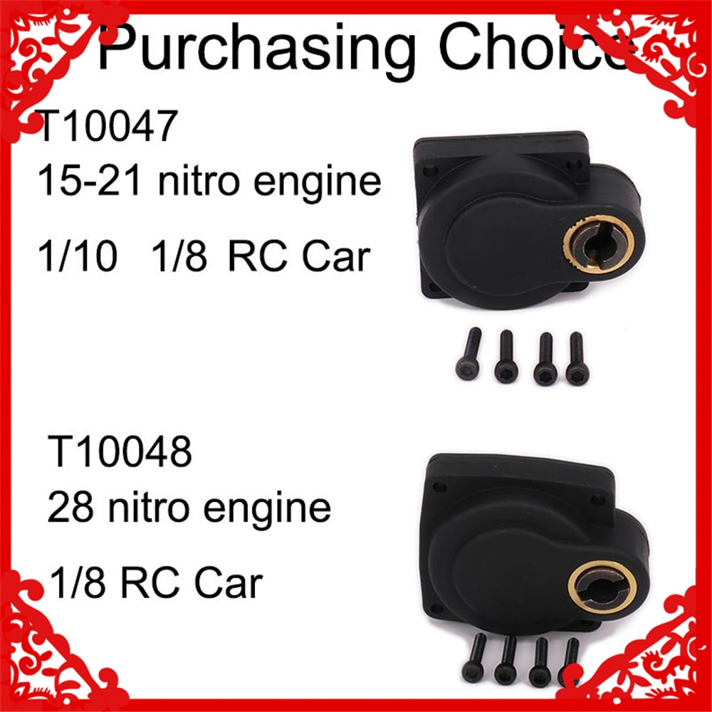 Electric Roto Starter RC motor Engine Nitro 21 E-Starter box Backplate Back Cover 1/8 To1/10 Rc Model Hobby Car 15-21 freeship