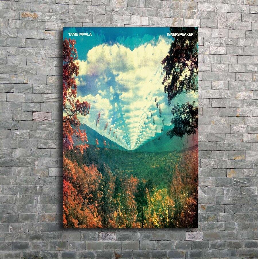 Póster de arte tamo Impala psicodélico Rock Innerspeaker lienzo de pared impresión moderna pintura hogar Decor14x21 12x18 24x36 27x40