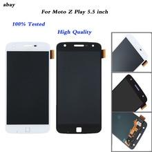 5.5 pouces écran LCD pour Motorola Moto Z Play XT1635 écran tactile numériseur 1920*1080 assemblage pièces de rechange