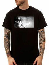 El Príncipe lluvia púrpura humo camiseta Tour 84-85 de la música negro icono Pop tamaño S-3XL Verano de 2018 de los hombres ropa de marca o-Cuello T camisa