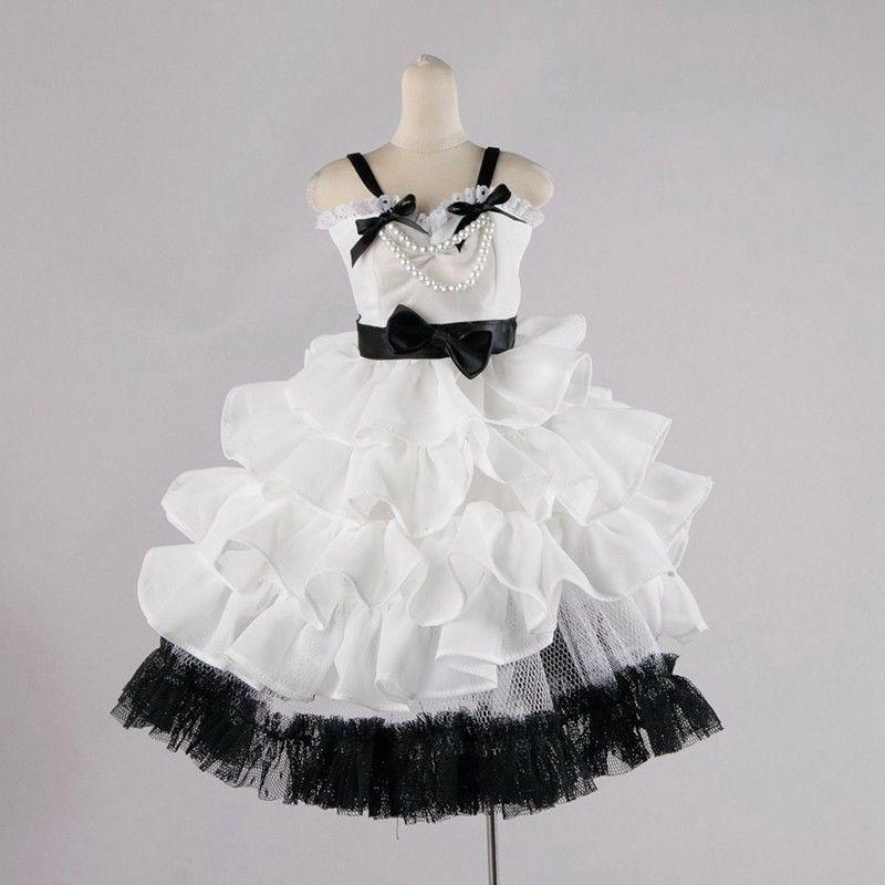 [wamami] 130# White Clothes Dress/Outfit 1/4 MSD DOD AOD BJD Dollfie