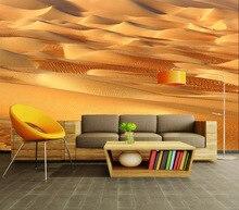 Mural tapety 3d tapety dla pokoju gościnnego tapety wystrój domu papier przylepny sypialnia skórki i trzymać tapety Cafe pustyni