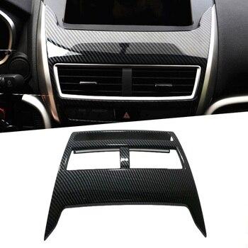 Панель навигации для приборной панели автомобиля декоративная рамка Накладка для Mitsubishi Eclipse Cross 2017-2018 цвет из углеродного волокна