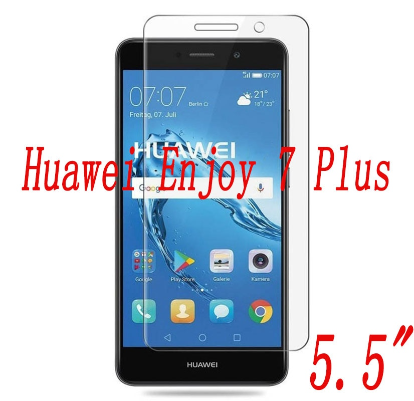 2PCS Tempered Glass  9H Explosion-proof Protective Film Screen Protector mobile phone for Huawei Enj