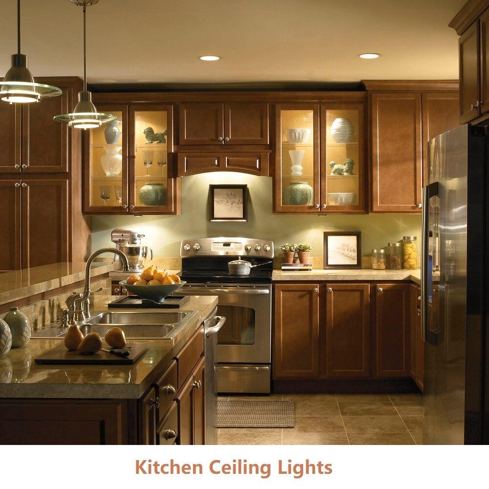 6 قطعة/الوحدة DC12V LED إضاءة الخزانة ، قبة ضوء ، سقف دافئ/سقف الإضاءة للمطبخ/عداد/خزانة/قاعة المعرض
