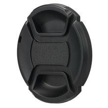 Couvercle de capuchon dobjectif avant à pression Anti-poussière de protection pour objectif Sigma 30mm F2.8 19mm 60mm sony a7 a7II a7R A7S A7RII CANON EOS M5 M6