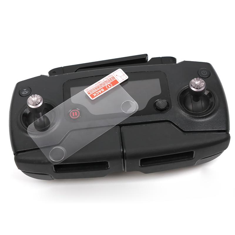 2 peças/lote ultrafinos claro dustproof controlador protetor de tela película protetora para dji mavic pro romote controle acessórios