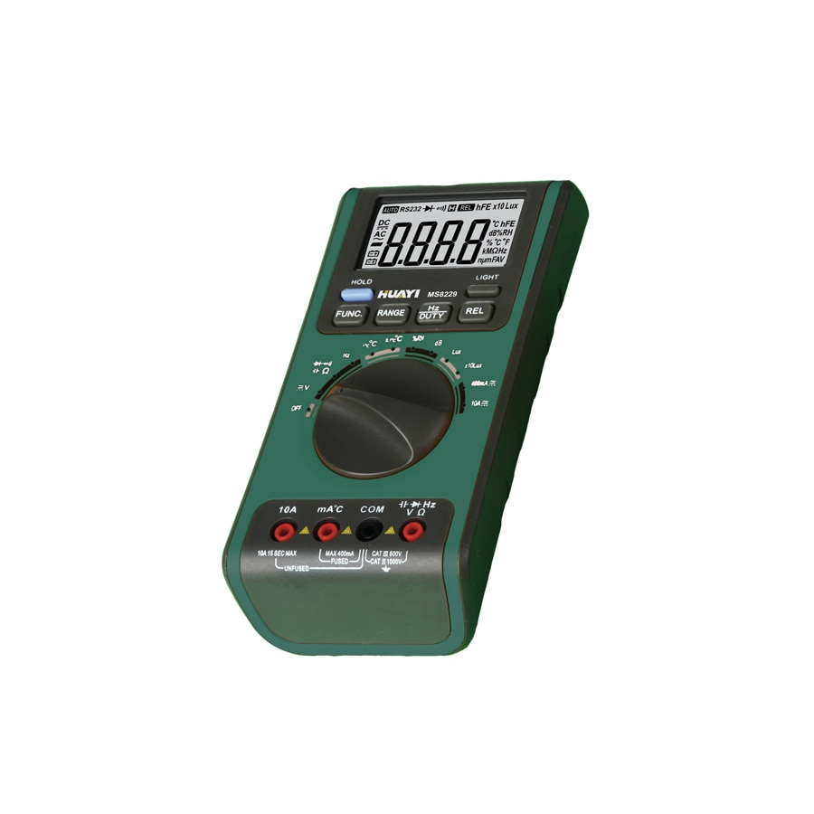 Temperature Humidity Tester Meter Lux Sound Level 4000 Counts Auto Range Digital Multimeter MS8229