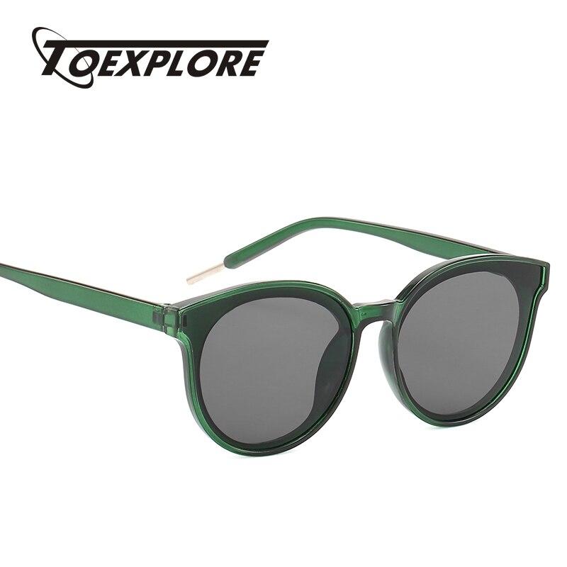 TOEXPLORE gafas de sol de moda ojo de gato para mujer y Chica gafas de sol de diseñador de marca para hombre gafas de sol Retro de lujo con espejo UV400