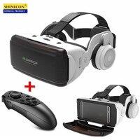Шлем виртуальной реальности, VR-очки с технологией Google Cardboard, подходит для смартфонов IOS/Android