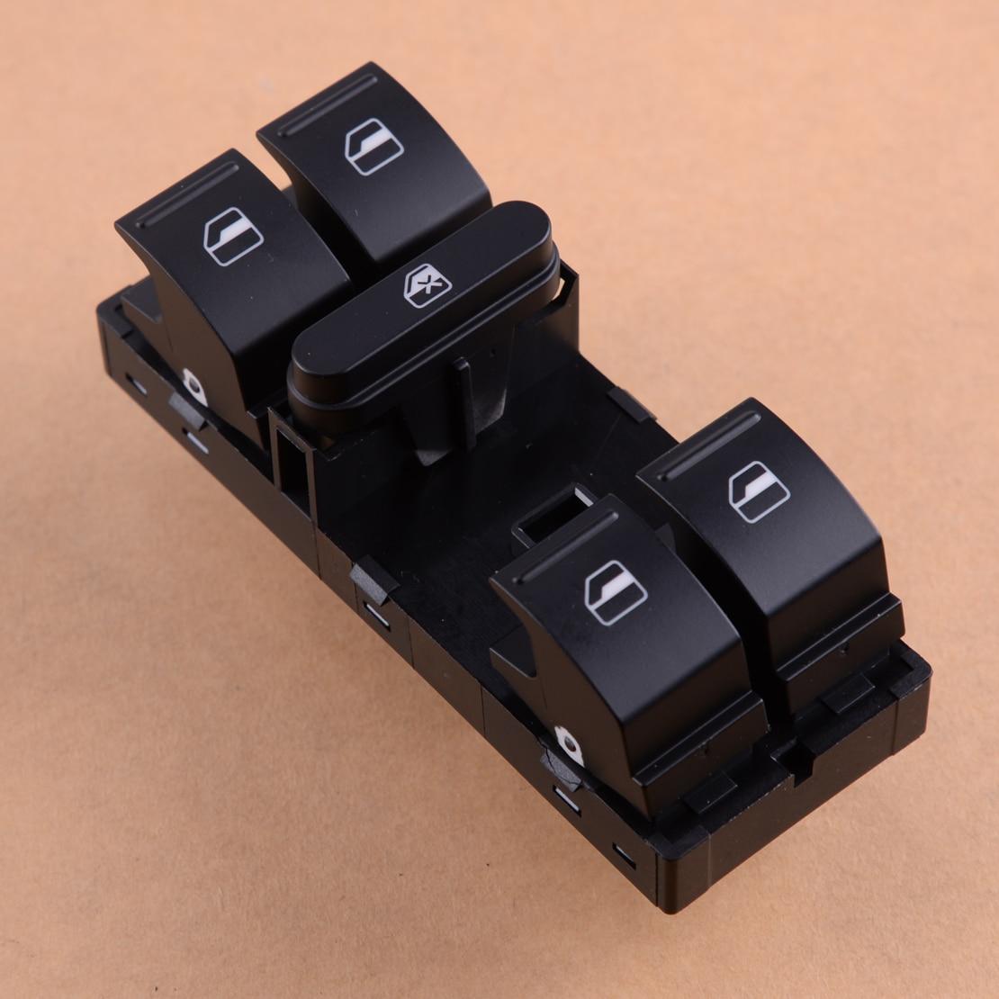 Beler siyah 1K4959857B Master elektrikli pencere anahtarı için Fit Volkswagen Passat Jetta Golf Mk5 Mk6 Tiguan CC Eos GTI tavşan Caddy