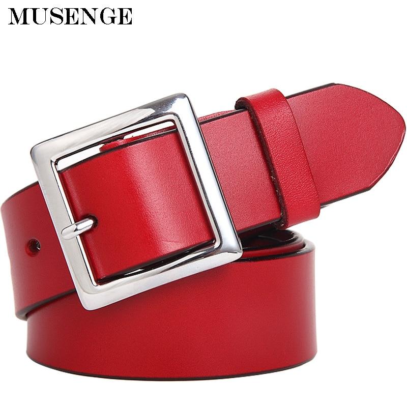 Female genuine leather wide dress belt off white cinturon mujer Womens belts for women jeans cinturones marca mujer waistband