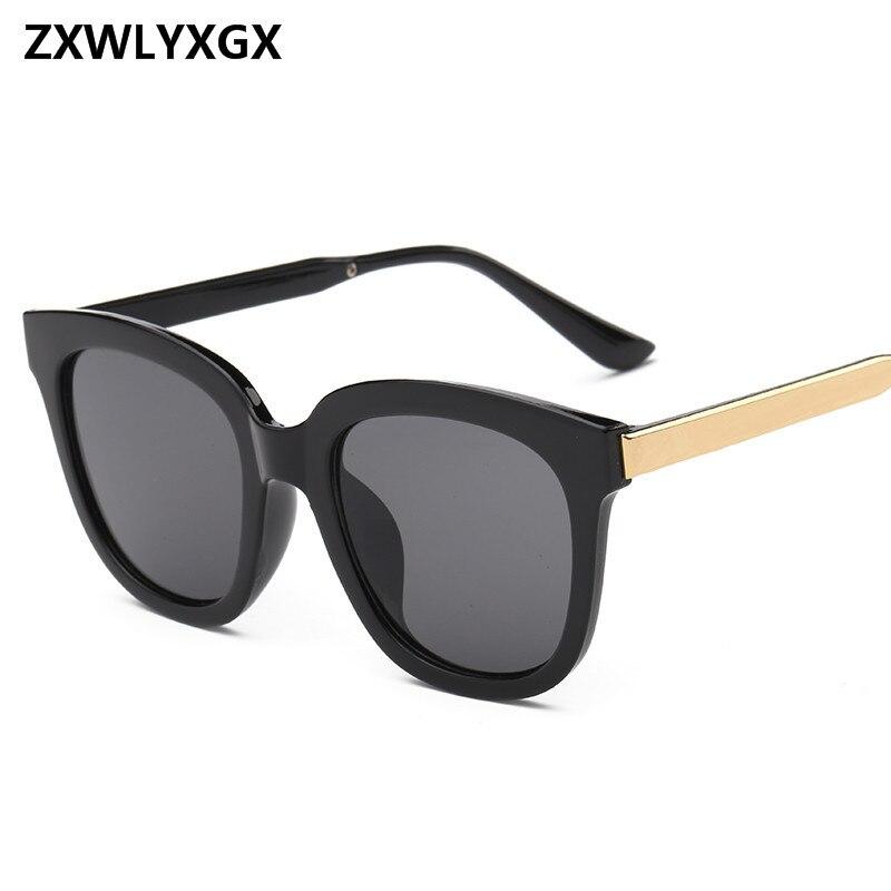 Vintage  Flat Top Eyewear Luxury Brand  Designer Sunglasses Women Men RetroSun Glasses UV400 Oculos masculino