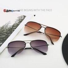 Samjune Men Classic Pilot Sunglasses Aviation Frame  Sun glasses For Men Driving UV400 Protection