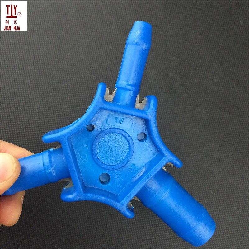Darmowa wysyłka nowy narzędzia hydrauliczne 16mm 20mm 26mm PEX-AL wewnętrznej i zewnętrznej rozwiertak kalibrator PPR przystoi rura hydrauliczna