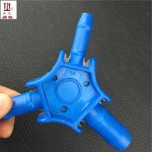 Livraison gratuite nouveaux outils de plombier 16mm 20mm 26mm PEX-AL alésoir interne et externe PPR calibrateur raccord pour tuyau de plomberie