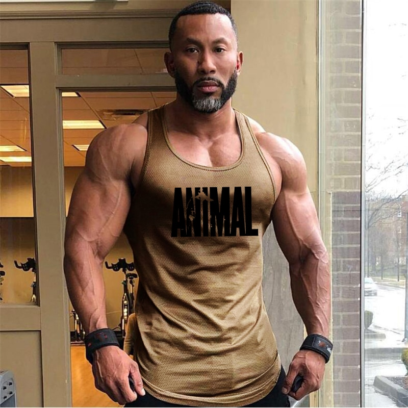 Summer Brand Fitness Tank Top Men Bodybuilding 2021 Gyms Clothing Fitness Men Shirt slim fit Vests M