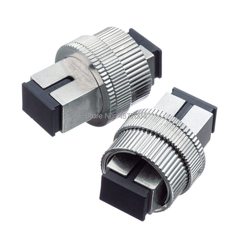 2 pçs/lote 0 ~ 30DB atenuador da Fibra óptica SC SC UPC Dimable Variável Atenuador da Fibra Óptica, Atenuador Da Fibra SC Ajustável