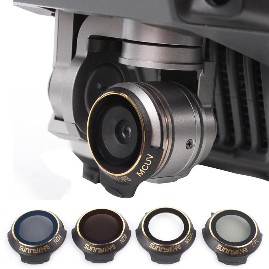 فلاتر الكاميرا بدون طيار لـ Mavic Pro CPL UV ND 8 16 ، فيلم طلاء متعدد الطبقات ، ملحقات