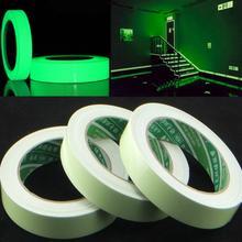 20/12/10/15 Mm X 3 M/Roll Lichtgevende Tape Zelfklevende Glow In de Dark Veiligheid Stage Home Decoraties Waarschuwing Tape