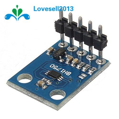 Цифровой датчик интенсивности света BH1750FVI, 2 шт., стандартный модуль BH1750 16 битов для Arduino 3-5 В, бесплатная доставка