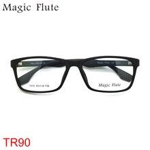 100% TR90 Glasses light flexible optical frames eyeglasses Women or Men frame fashion prescription eyewear Vintage 7032