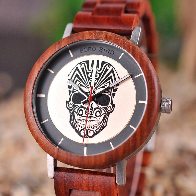BOBO BIRD V-Q12 relojes de madera con detalle único, reloj de cuarzo para hombres, productos chinos de calidad, triangulación de envíos, reloj masculino