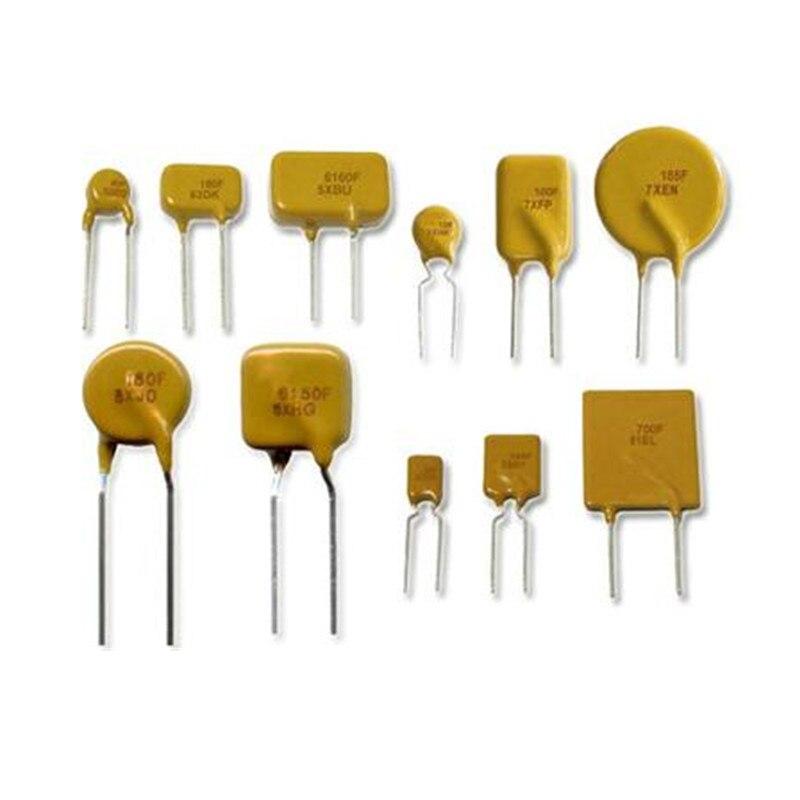 100 uds/1000 Uds fusible reajustable PPTC JK30-900 RUEF900 30V/24V 9A 9000MA