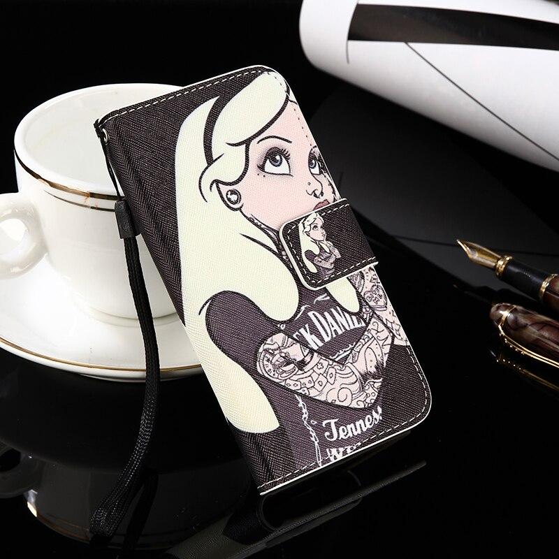 Funda para teléfono Gretel A7 antideslizante estilo billetera